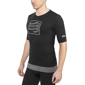 Compressport Training Løbe T-shirt sort